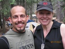 My trainer, Casey Mitzel and me