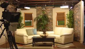 television-studio-set