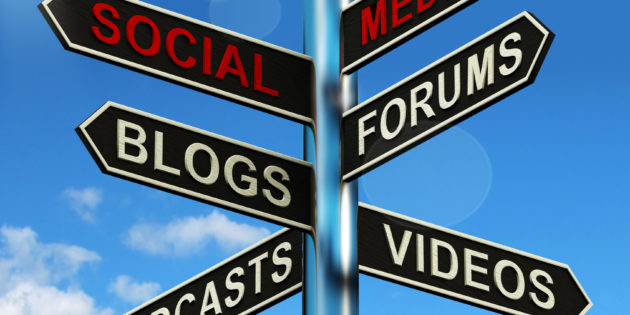 Social Media Signpost