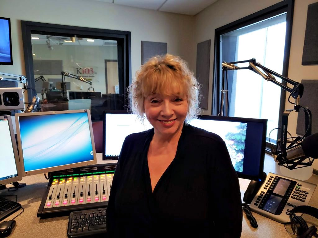 Joanne McCall in Studio