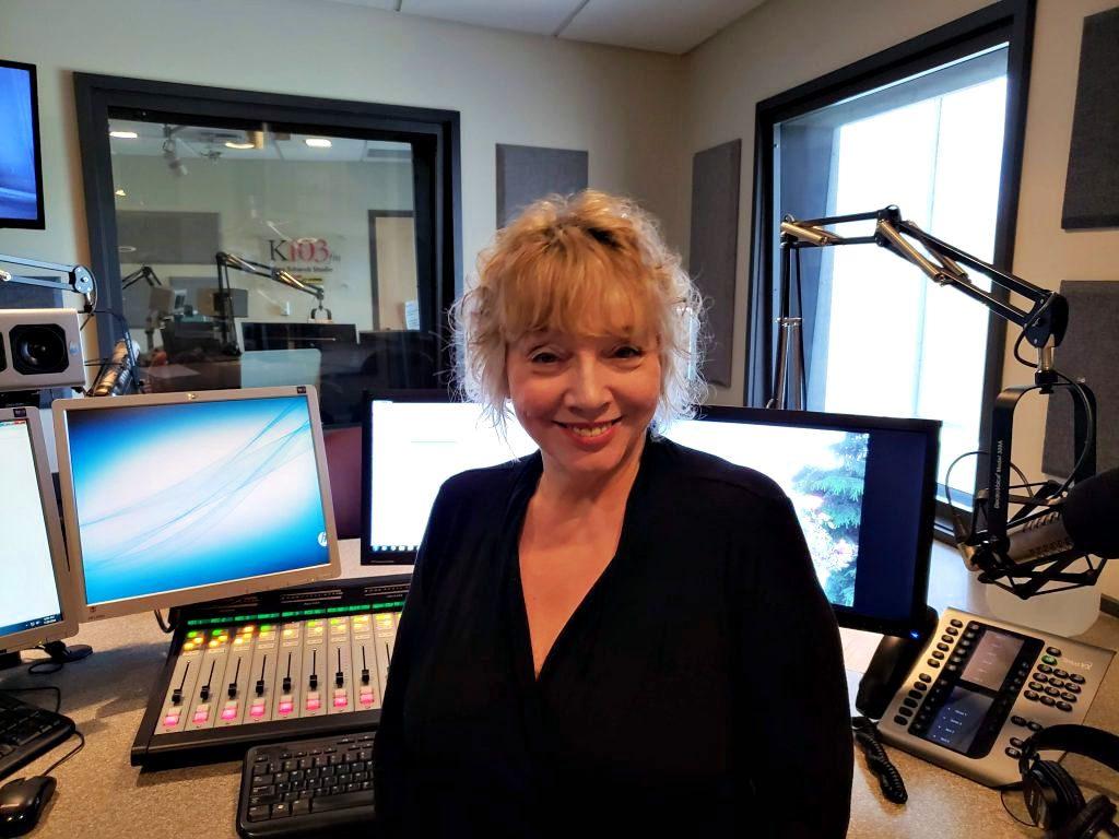 Joanne McCall in Studio