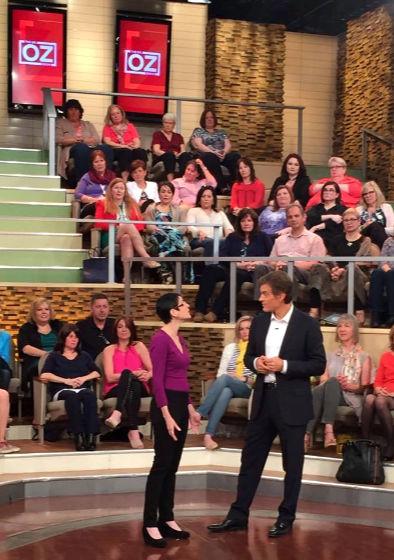 Norine Dworkin on Dr Oz Show