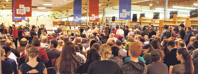 Powell's Bookstore Book Event