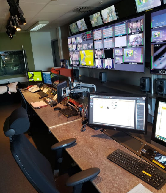 Media Studio Control Room