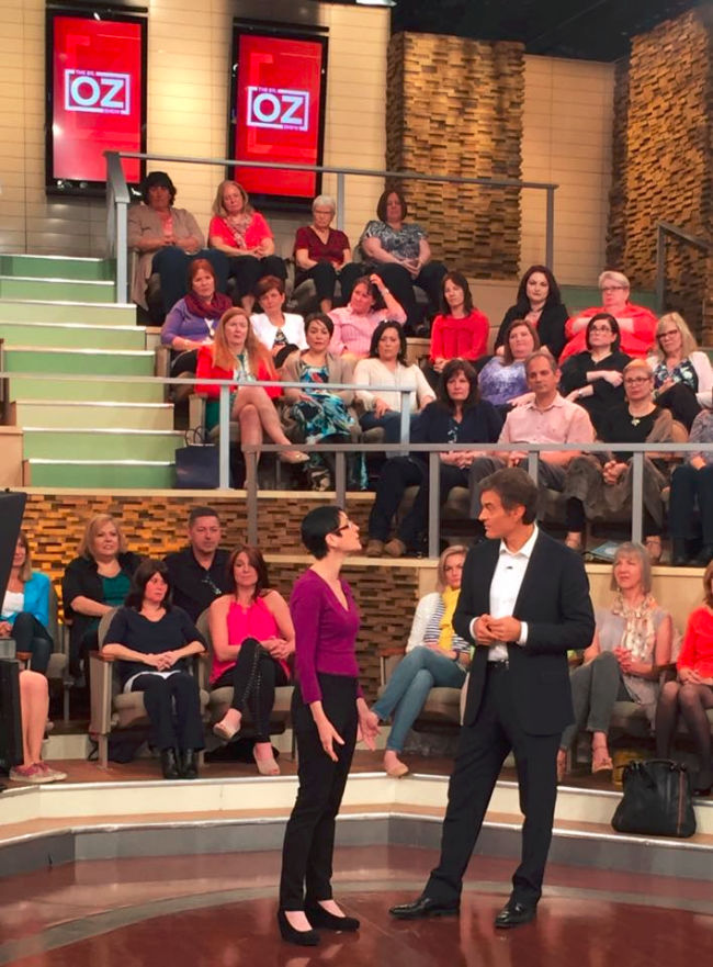 Client Appearing on the Dr. Oz Show