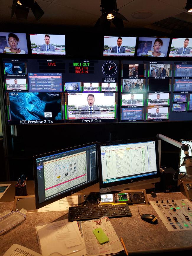 Multi-screen workspace